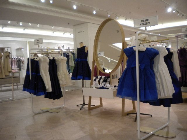 David Charles On Display In Harrods Boutique