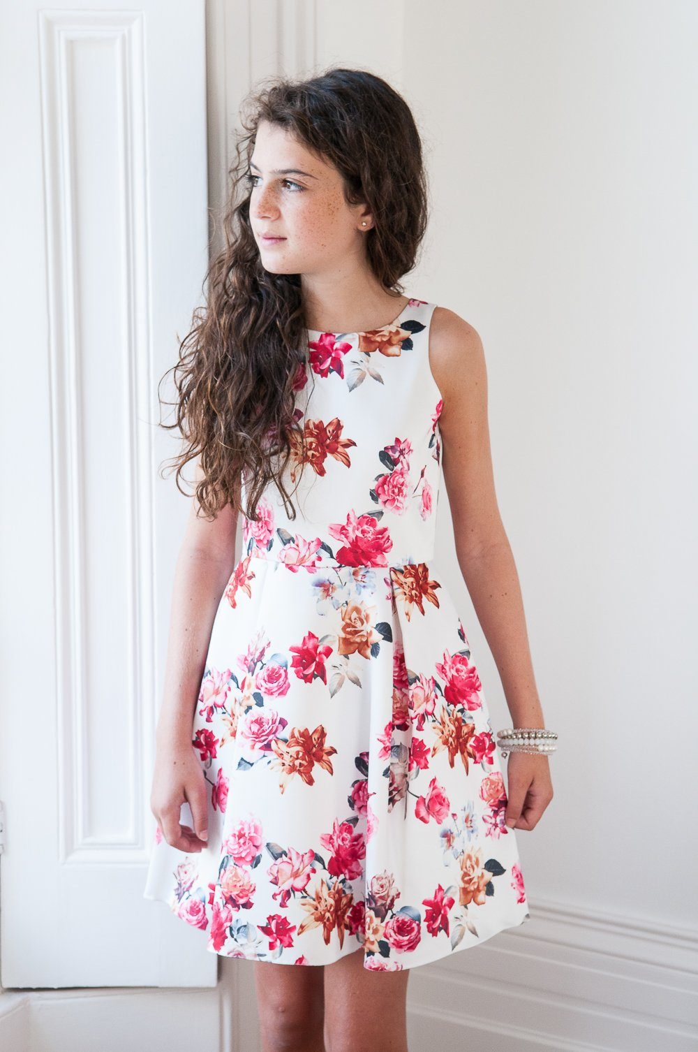 Floral Summer Dress - David Charles Childrens Wear