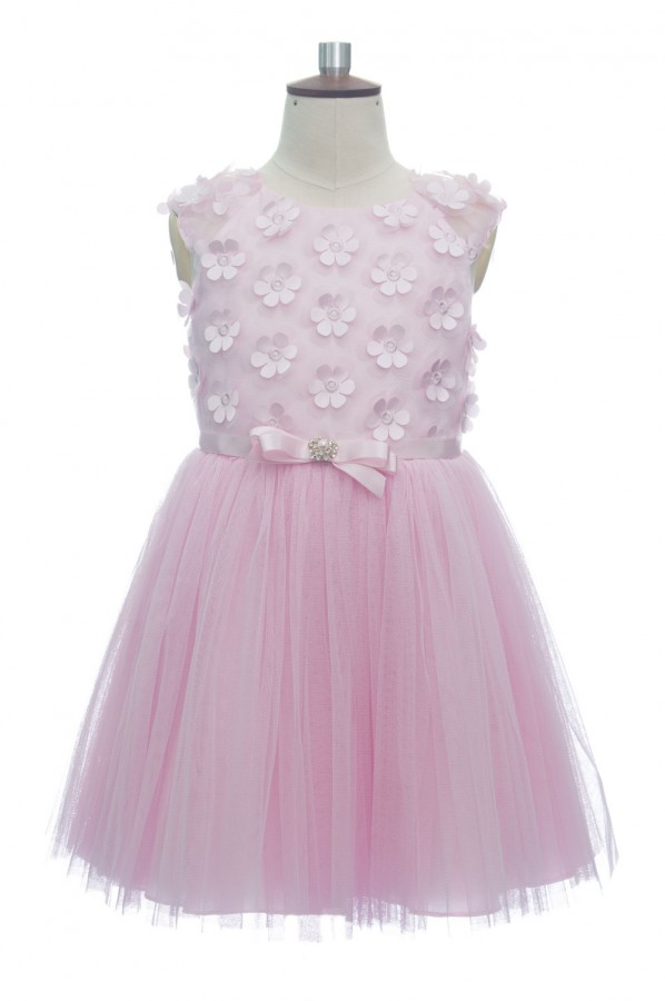 Pink Tulle Princess Party Dress
