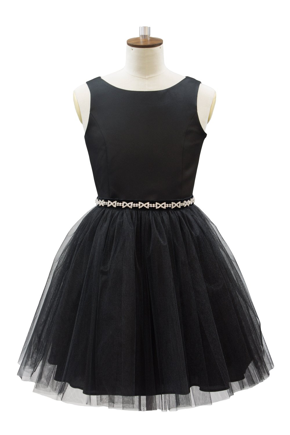 Elegant Black Prom Dress