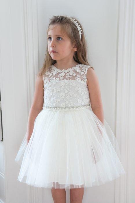 Ivory Ballerina Princess Dress