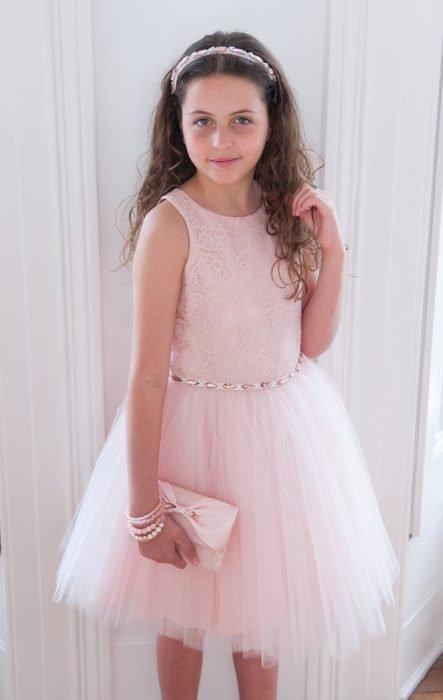 Pearl Pink Birthday Dress