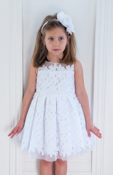 White Floral Dream Dress