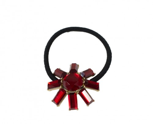Ruby Red Sunshine Scrunchie