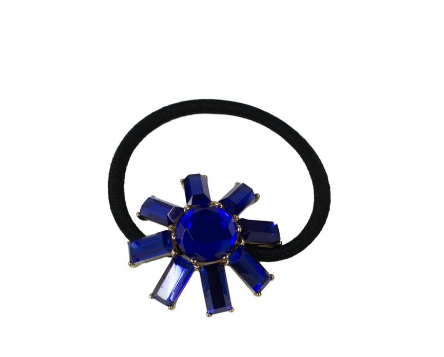 Royal Blue Sunshine Scrunchie