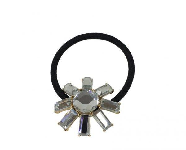 Silver Starlet Sunshine Scrunchie