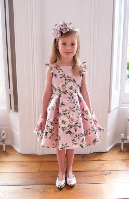 Pastel Pink Princess Dress