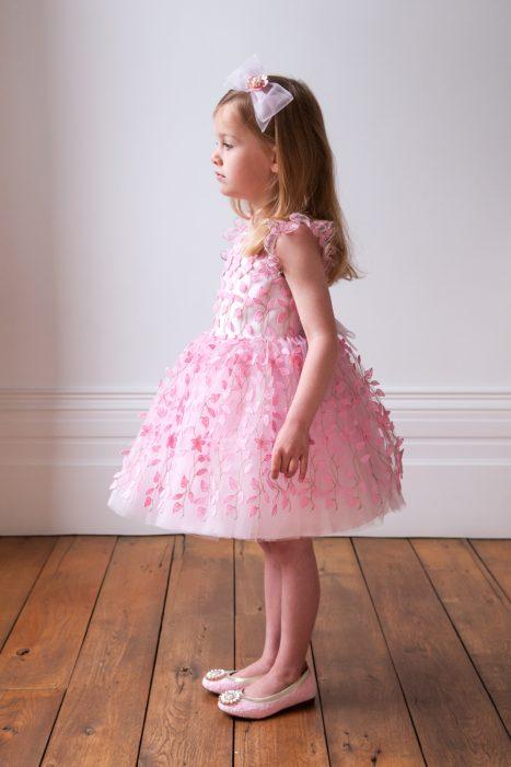 Pink Bouquet Princess Gown