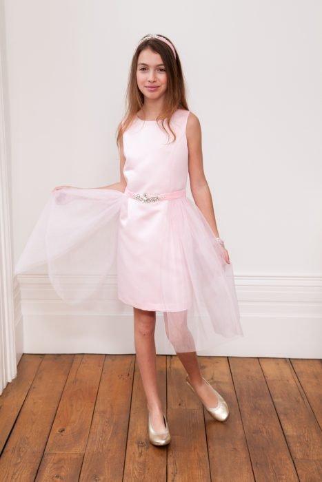 Powder Puff Pink Ballerina Ball Gown