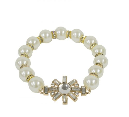 ivory pearl sunshine bracelet