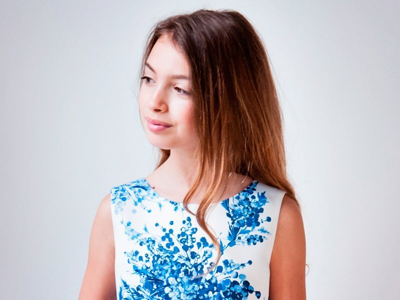שמלת מעצב בנות