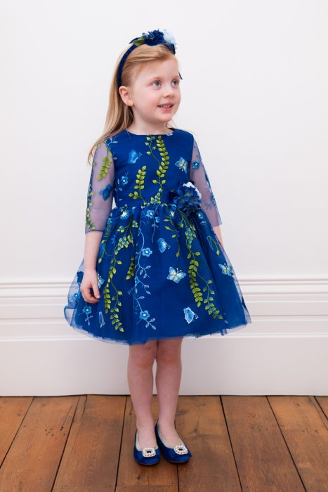 Royal Blue Dream Garden Gown