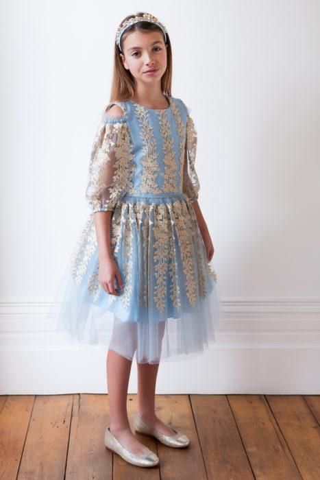 Powder Blue Tulle Dream Dress