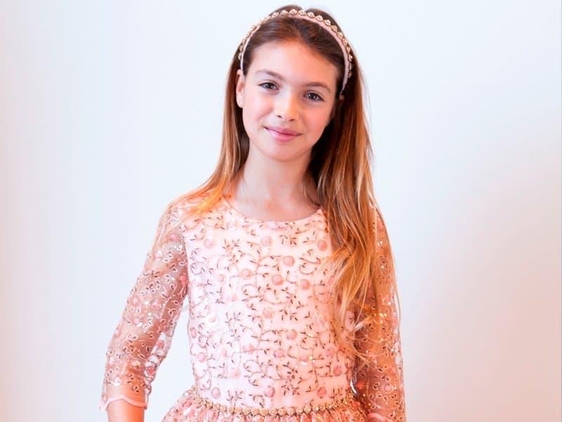 Mädchen Designer-Kleider