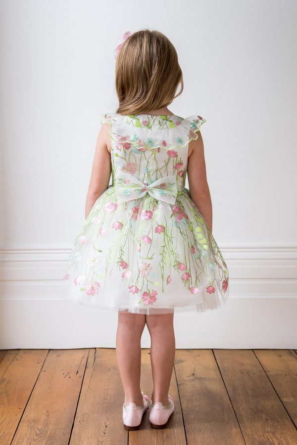 Luxury Ivory Bridesmaid Dress