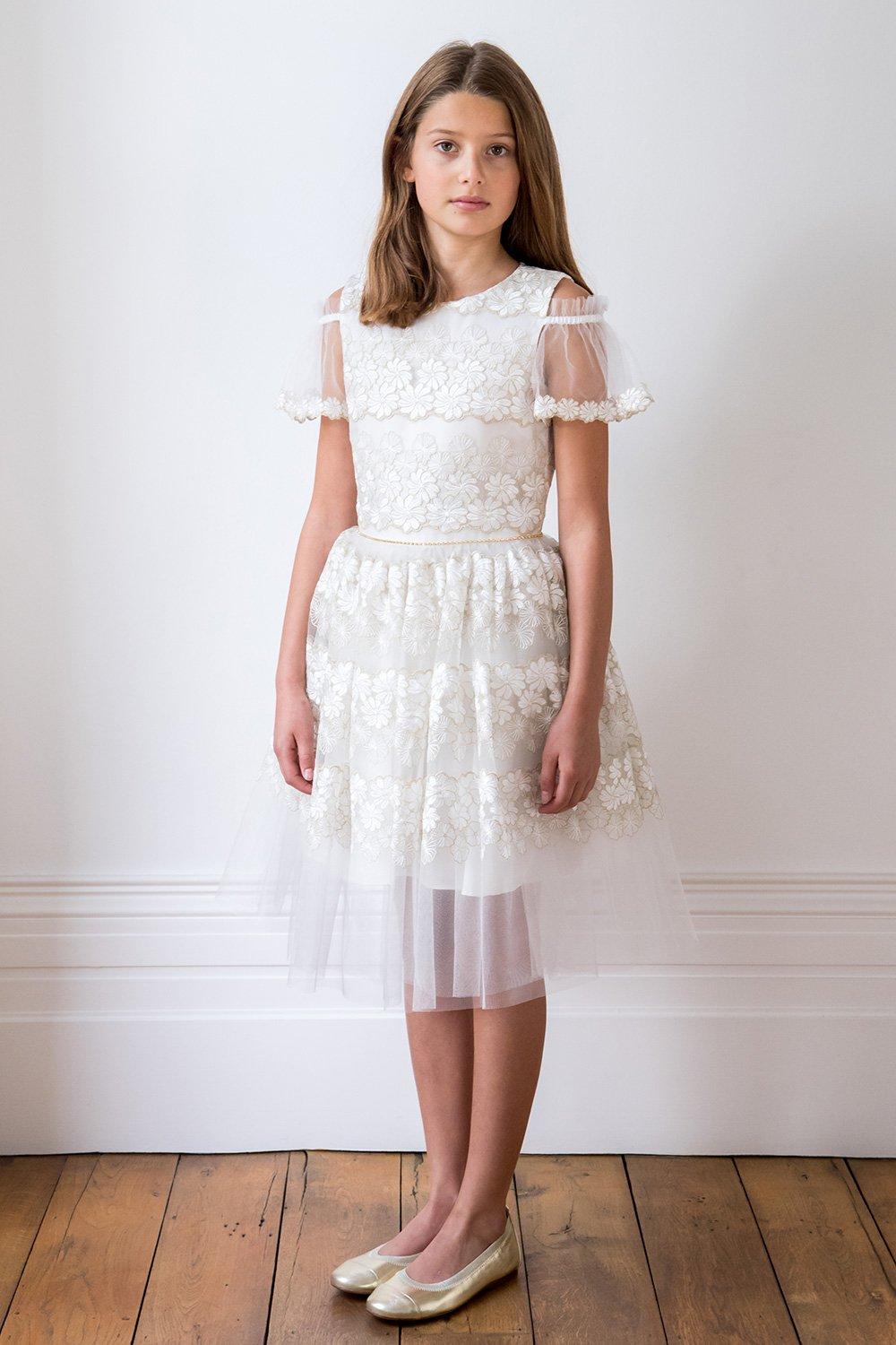 ivory cold shoulder bridesmaid dress david charles