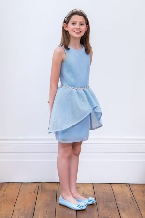 Duck Egg Blue Prom Dress