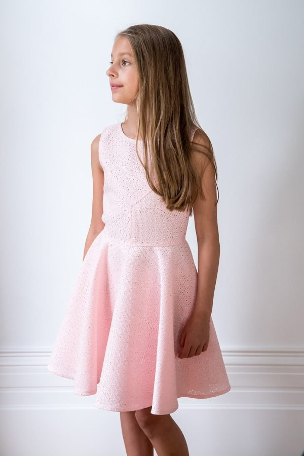Candyfloss Pink Skater Dress