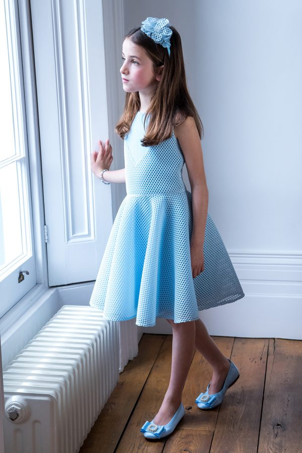 Bubblegum Blue Skater Dress