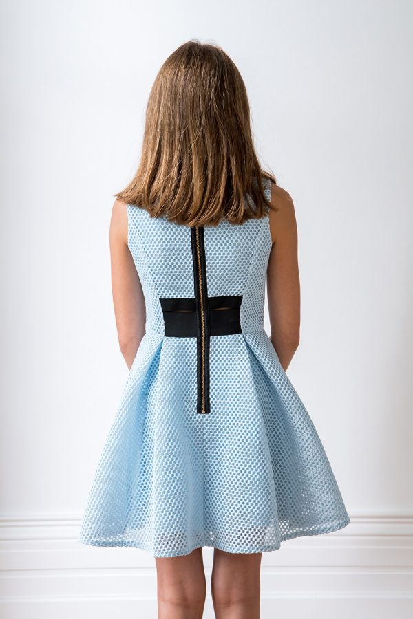 Powder Blue Fashion Dress