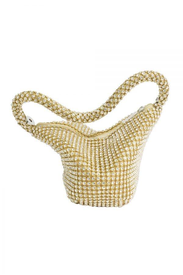 Gold Sparkle Tote Bag