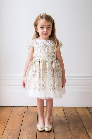 Deluxe Ivory Spring Harvest Dress