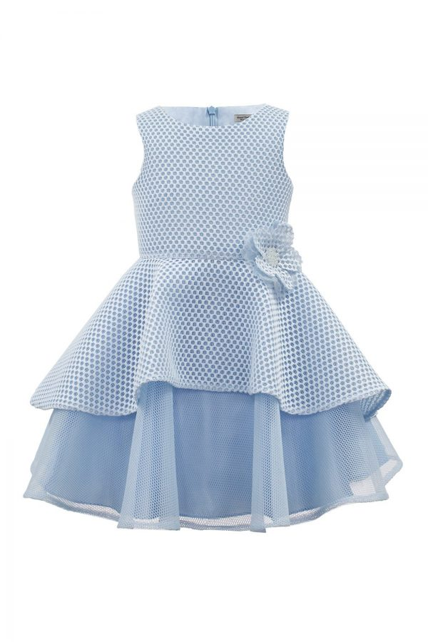 Pastel Blue Tea Dress