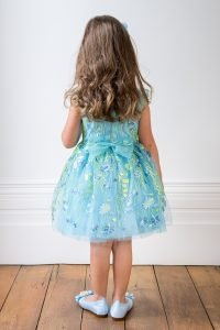 Pale Blue Summer Garden special occasion dresses