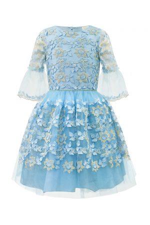 Bubblegum Blue Daffodil Dress