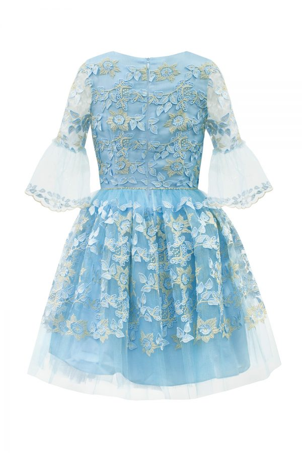 Bubblegum Blue Daffodil Dress