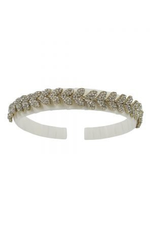 Ivory Jewelled Princess Hair Band