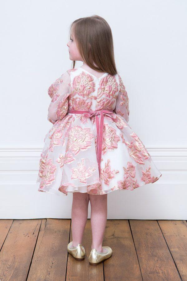 Petal Pink Flower Dress
