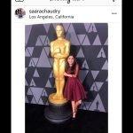Saara instagram oscars