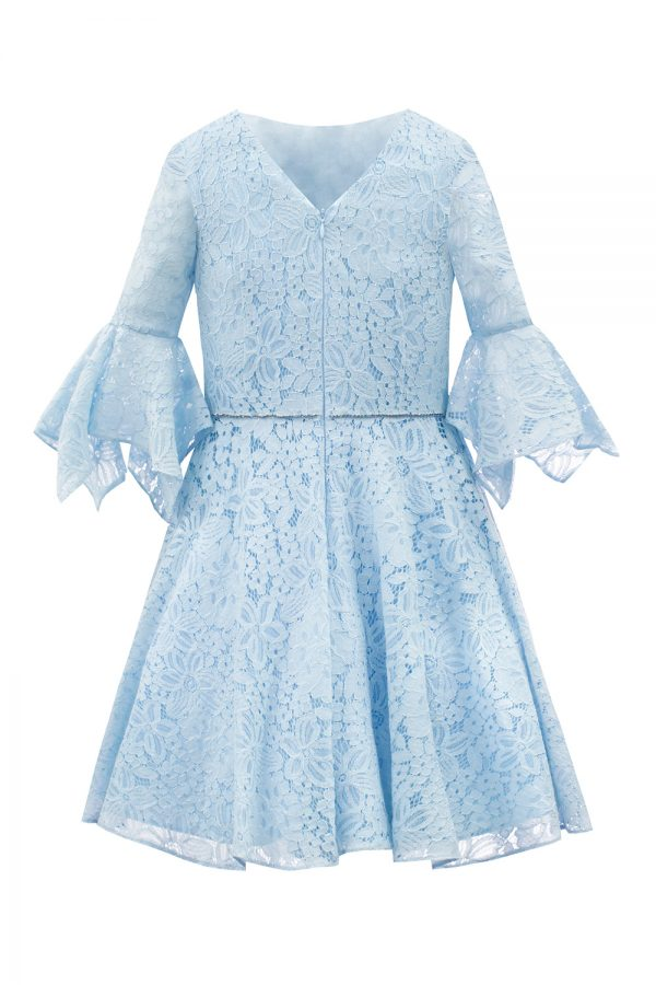 Duck Egg Blue Birthday Dress