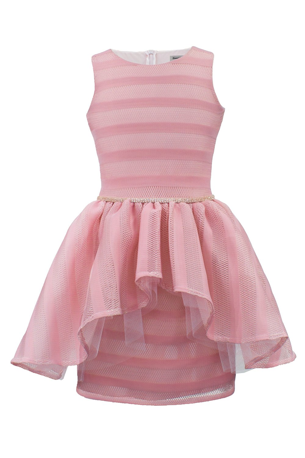 Pale Pink Ballerina Prom Gown - David Charles Childrens Wear