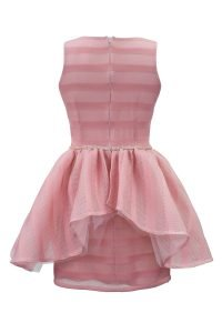 Pale Pink Ballerina Prom Gown