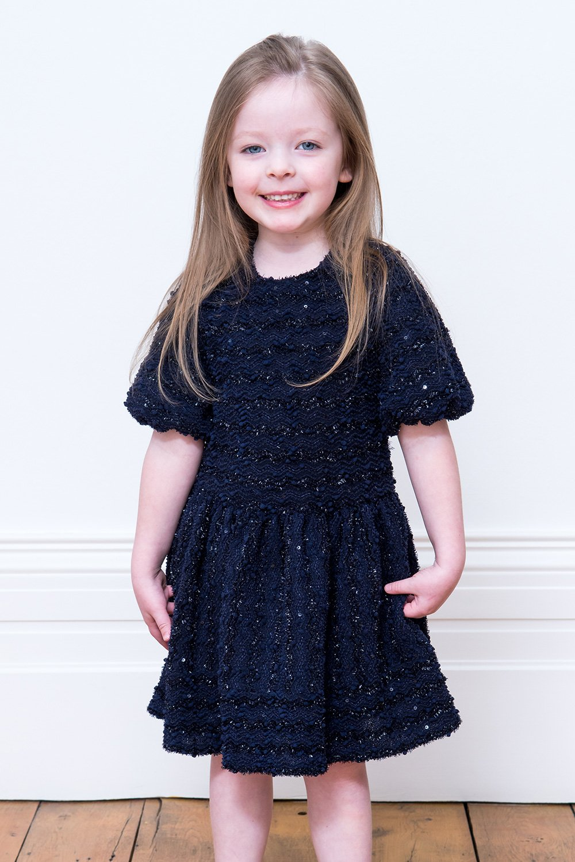 Formal Navy Sparkle Dress