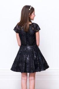 Girls Black Formal dress for winters