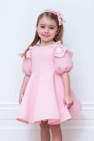 Powder Pink Flower Girl Gown