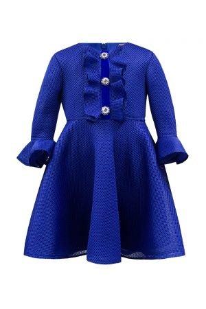 Royal Blue Jewel Fashion Dress