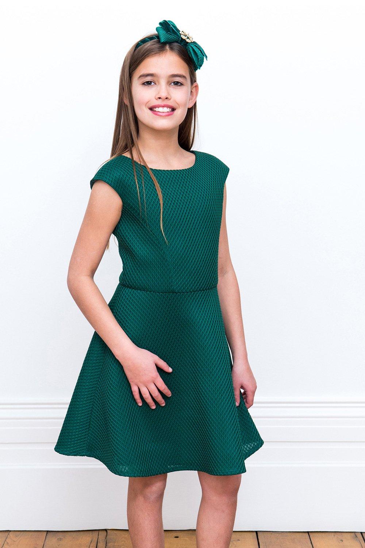 4acb617363d Jade Green Bridesmaid Gown - David Charles Childrens Wear