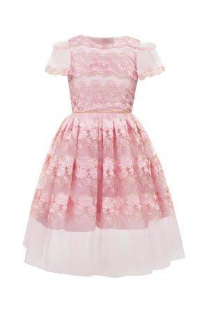 Pink Floral Birthday Dress