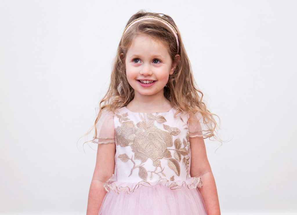 Winter wedding dresses for children