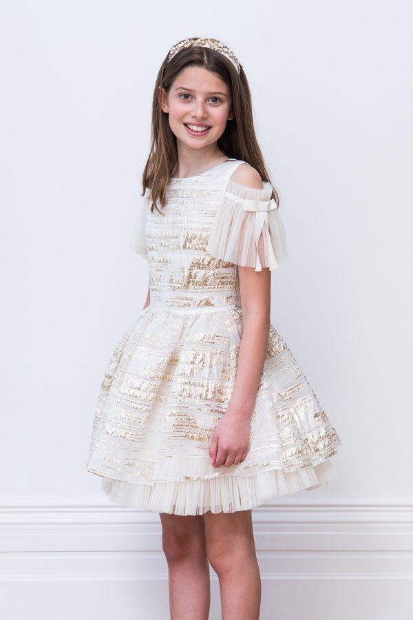 Gold Ballerina Gown