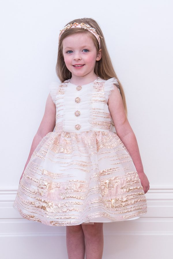 Champagne Pink Birthday Dress