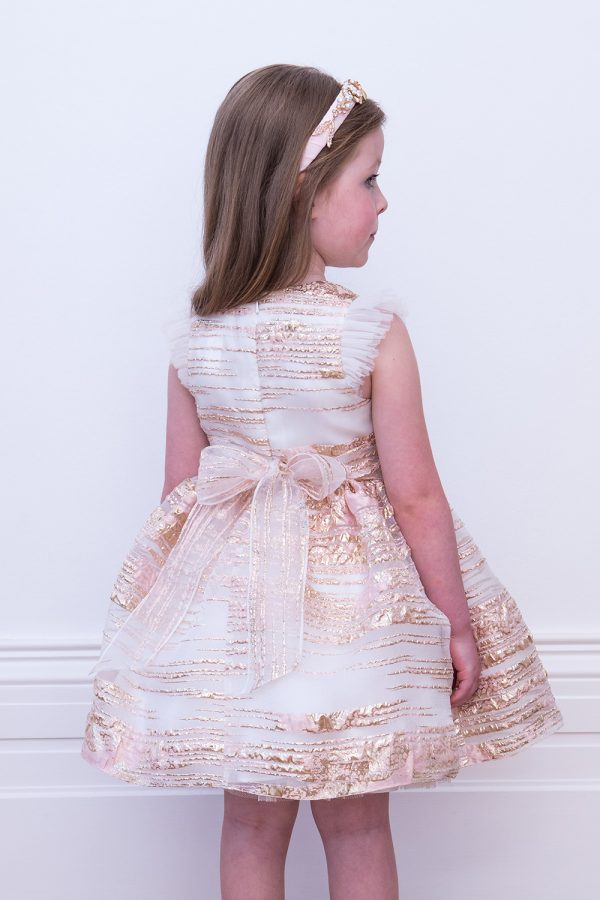 Champagne Pink Birthday Dress