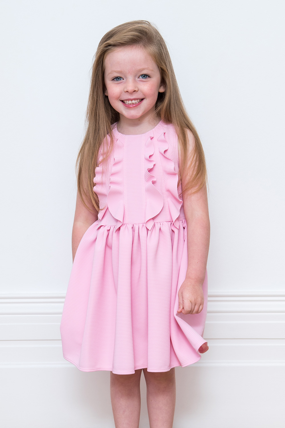 7db9a3e83b707f Posy Pink Birthday Dress - David Charles Childrens Wear