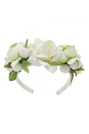 Ivory Bridesmaid Hair Band
