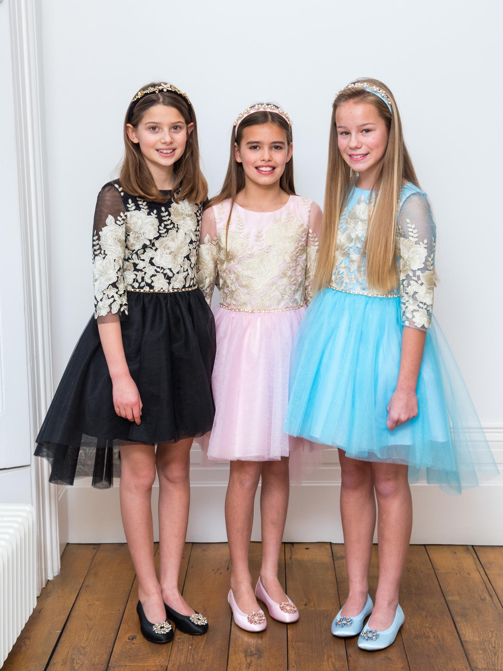 Luxury tween dresses