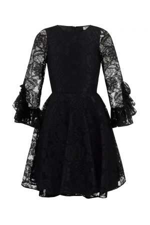 Black Lace Birthday Dress